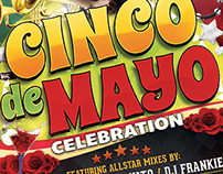 Cinco De Mayo Flyers