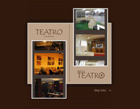 Teatro Restaurant Website