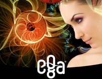 Visual Identity: EGA Wellness Salon