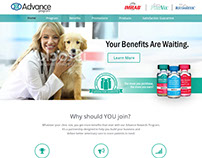 Advance Program Website Redesign