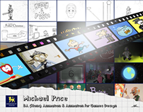 Michael Price: BA (Hons) Animation video portfolio