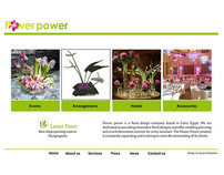 Flower Power Website