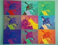 Warhol pic of my dog