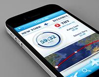 Havalan IOS Flight Tracking App.