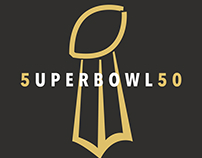 #5uperBowl50: Ode To Super Bowl Logos Past