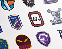 70 Day Challenge – Sports Logo Redesigns