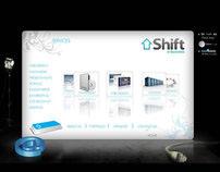 Shift E-business Website