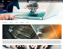 Web site for Platon