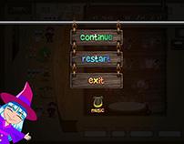 Illustrations for mobile games