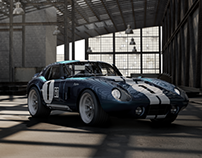 Shelby Cobra Daytona 1965 // Vizualisation