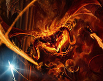 Gandalf & the Balrog