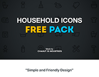 FREE! Household Icons pack by Chanut-is-Industries