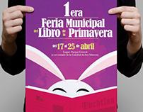 1era Feria Municipal del Libro de la Primavera