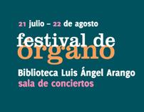 Festival de Órgano. BLAA / Colombia