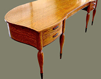 Baby Grand Writing Desk