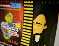 Calendario 2011   El Padrino & Hitler