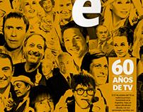 Suplemento 60 años de TV . Diario Clarín