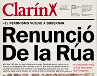 Tapas especiales . Diario Clarín
