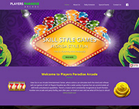 Player Paradise Arcade Website