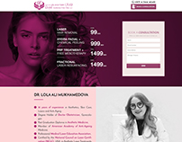 Royal Aesthetica Landing Page