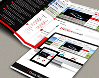 Brochure Design (Indesign)
