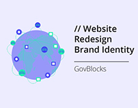 Website Redesign & Brand Identity for GovBlocks