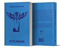 Outlander by Diana Gabaldon- book cover redesign