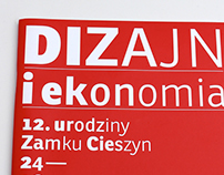 Program of 12th birthday of Zamek Cieszyn design center
