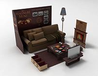 Algida Magnum Display & Activity Designs