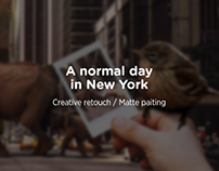 A normal day in New York - Creative Retouch (2018)
