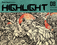"Illustration Zine ""HIGHLIGHT"""