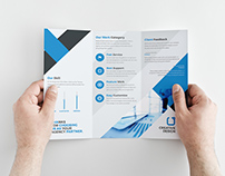 Irish Corporate Tri-fold Brochure