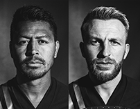 Sporting KC Player Portraits