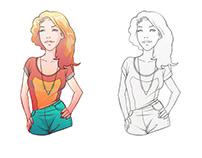 Character Design - GIRLS _01