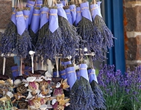 Hungary - lavender and rustic.