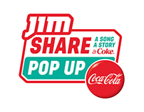 JIM 'Share a Coke' POP UP