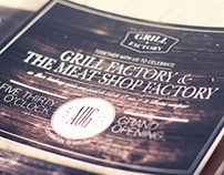 Grill Factory - Restaurant Attributes Design