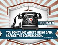 "Man Men Teaser ""Phone"""