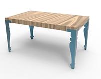 Uplift furniture legs
