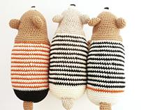 L'Ós Bru. Eco- friendly Crochet Animal
