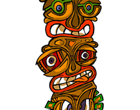 Totem FUN faces