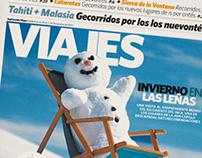 Suplemento Viajes . Diario Clarín