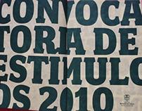 Convocatoria de Estímulos. Mincultura / Colombia