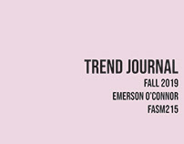 Trend Journal- Fall 2019