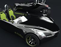 Veeco E-Motion Concept