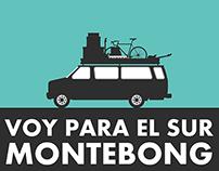 VOY PARA EL SUR. / MONTEBONG