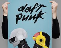 Poster de Daft Punk   Personal