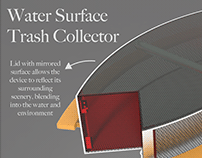 Water Surface Trash Collector