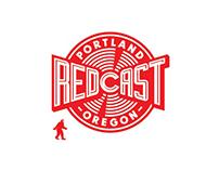 Redcast logo & graphics