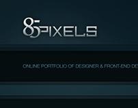 85pixels // Portfolio Website